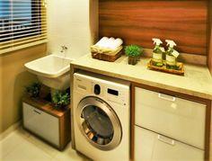 Quer deixar sua lavanderia pequena perfeita para o seu espaço e sua rotina? A gente te ensina todos os segredos para realizar essa façanha da vida moderna!