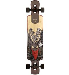 Moonshine Mfg Longboard Skateboard Complete County Line V2 Firm Drop through Carver *** Read more  at the image link. This is an Amazon Affiliate links.