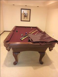 Attirant 8u0027 AMF HighLander Pool Table