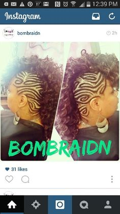 Mohawk is creative inspiration for us. Get more photo about Hairstyle for black women related with by looking at photos gallery at the bottom of this page. We are want to say thanks if you like to share this post to another people via your facebook, pinterest, google plus or …