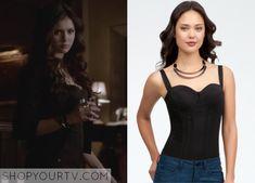 The Vampire Diaries: Season 4 Episode 21 Katherine's Seam Detail Bodysuit |