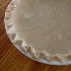 Perfect Pie Crust, gluten-free, dairy-free, egg-free and vegan | In Johnna's Kitchen