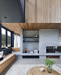 "3,545 Likes, 12 Comments - db - design bunker (@designbunker) on Instagram: ""Lovely use of materials in this Beach House by Bower, Point Lonsdale Australia! Photo by Shannon…"""