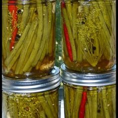 - Spicy Pickled Green Beans