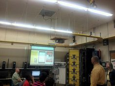 Industrial Technology demonstration at CCCC.