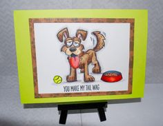 Crazy dog!!! by JackieA - Cards and Paper Crafts at Splitcoaststampers
