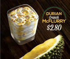 Mcflurry-Durian Flavor