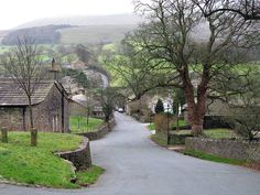 Downham village. Located near Clitheroe in lancashire. Photo: Mike Smith