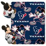 Use this Exclusive coupon code: PINFIVE to receive an additional 5% off the Houston Texans Mickey Mouse Hugger with Throw sportsfansplus.com