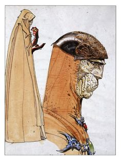 """Willow"" Concept Art - Moebius"