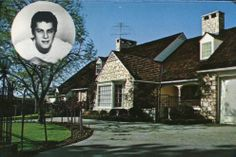 Home of Tony Curtis, Beverly Hills, California