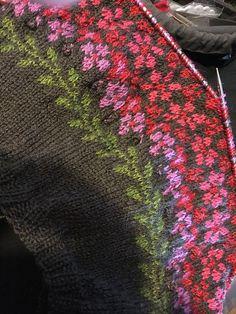 Birkin pattern by Caitlin Hunter Ravelry: project gallery for Birkin patterns by . knitted ideas Birkin pattern by Caitlin Hunter Ravelry: project gallery for Birkin patterns by . Fair Isle Knitting Patterns, Knitting Charts, Knitting Stitches, Knitting Designs, Knitting Yarn, Knitting Projects, Baby Knitting, Crochet Patterns, Fair Isle Pattern