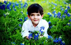More bluebonnet pictures of kids