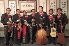 Some band members of Mariachi Sol Mixteco. Photo by Sherm Shiao