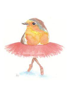 Ballerina Birdie.