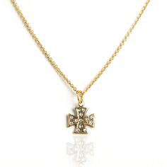 """ST. JOHN CROSS -Sterling Silver or Gold Plated -Measure 14""""-16"""" -Adjustable -Swarovski Crystal Faceted Crystal, Clear Crystal, Swarovski Crystals, Patron Saints, Chokers, Sterling Silver, Chain, Customer Service, Sick"""