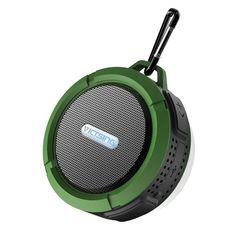 VicTsing Shower Speaker, Waterproof Speaker, Wireless Bluetooth Speaker with Suction Cup, Buit in Mic - Army Green Wireless Outdoor Speakers, Best Portable Bluetooth Speaker, Waterproof Bluetooth Speaker, Wireless Speakers, Bluetooth Headphones, Water Speakers, Shower Speaker, Cassette, Tech Gifts