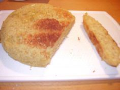 Schnelles Toast-Brötchen low carb - 4 Minuten Mikrowelle