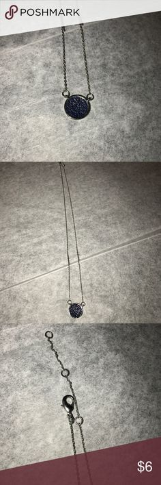 EUC Charming Charlie Sapphire Blue Necklace EUC Charming Charlie Sapphire Blue Necklace.  No visible flaws.  Only worn once.   Very pretty and dainty Charming Charlie Jewelry Necklaces