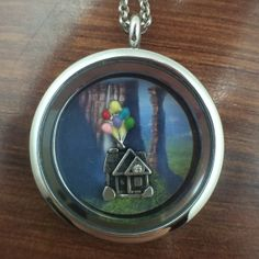 Up Themed Floating Charms Locket