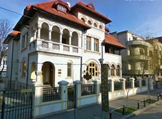 casa in stil neoromanesc Bucharest Romania, Neverland, Old Houses, Dan, Landscaping, Exterior, House Design, Mansions, Future