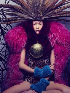 fromobscuretodemure: Gwen Lu by Jonty Davies for Twenty6 Magazine Issue I.