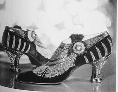 1920's Art Deco Shoes