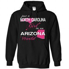 V1-NORTHCAROLINA-ARIZONA GIRL - #embellished sweatshirt #sweater dress outfit. LOWEST PRICE => https://www.sunfrog.com/Valentines/V1-2DNORTHCAROLINA-2DARIZONA-GIRL-Black-Hoodie.html?68278