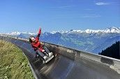 Mount Pilatus near Luzern – rope park and a summer toboggan run + hiking and a great view!