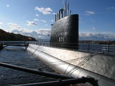 The Nautilus. World's first operational nuclear-powered submarine. Source