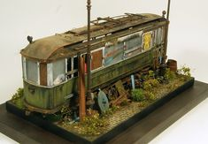 Dioramas and Vignettes: There once lived a tram..., photo #5 by Eugene Tur