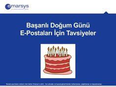 Başarılı Doğum Günü E-Postaları İçin Tavsiyeler