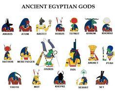 African egyptian gods