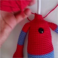 Amigurumi spiderman free crochet pattern is waiting for you in this article with all the details. You can find everything about Amigurumi on our website. Crochet Art, Crochet Dolls, Free Crochet, Crochet Toys Patterns, Stuffed Toys Patterns, Knitting Patterns, Spiderman Spider, Amigurumi Doll, Free Pattern