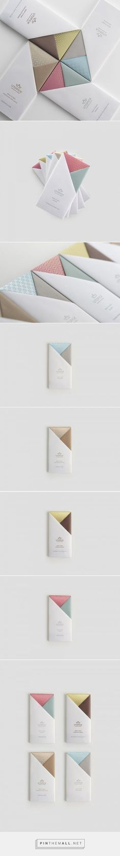 A Lovely Chocolate Bar that's Packaged with Origami / Designed by Lavernia & Cienfuegos