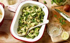 MAGGI Rezeptidee fuer Grüner Quinoa-Salat