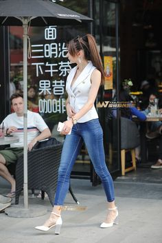 Skirt Pants, Jeans Pants, Tops For Leggings, Leggings Are Not Pants, Sexy Outfits, Fashion Outfits, Womens Fashion, Sexy Jeans, Skinny Jeans