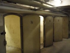 Horror: The cells at the Gestapo headquarters in Cologne have been preserved, with 1,800 graffiti scrawls