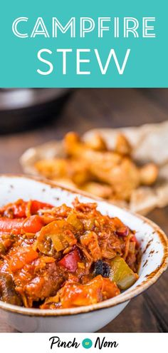 Campfire Stew is a tasty, warming, easy meal for anyone coun Healthy Soup Recipes, Low Calorie Recipes, Vegetable Recipes, Slimming World Dinners, Campfire Stew Slimming World, Slimming Recipes, Slow Cooker Recipes, Cooking Recipes, Slow Cooking