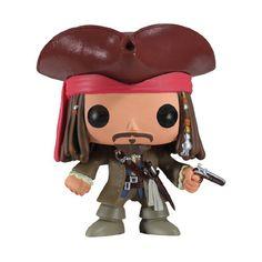 Pop Piratas do Caribe - Jack Sparrow - Bonecos Colecionáveis e Brinquedos é na ITtoys