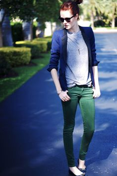 Green Jeans - Quinn Cooper Style