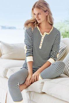 Buy Navy/White Stripe Pyjamas from the Next UK online shop