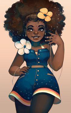 Ilustradora de mão cheia, Geneva Benton prova que a prática nos conduz sim a perfeição. Ela aprendeu sozinha, e hoje dá vida a personagens femininas que beiram o universo fantástico e místico.