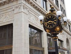The City of Jacksonville Department of Public Works, and SouthEast Development Group were honored at the 2013 Historic Preservation Commission Awards Ceremony Thursday evening, May 2, for their efforts in the restoration of Downtown's Jacobs Jewelers historic clock.