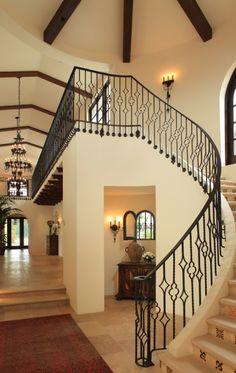 Stairs w/tiles - very Spanish