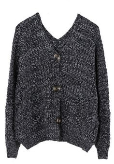 Oversized Knit Cardigan Batwing Cardigan 26fa20c5c
