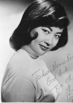 Film, You Only Live Twice (1967), character, Ling, actress, Tsai Chin, born China (1936), age 31 in year of film's release.