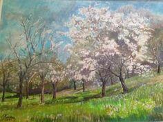 Pierre Carron - Pommiers En Fleurs