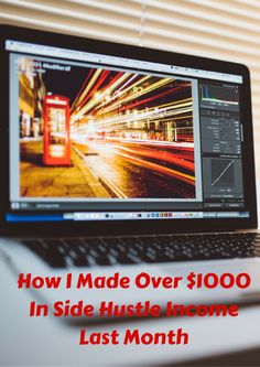 I typically don't write much detail about my side hustle income, but I felt that…