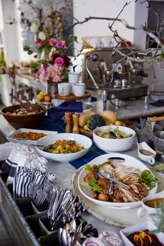 12 tips for arranging the perfect buffet table food buffet sunday some years youre the turkey basting host and others youre the watchthetrailerfo